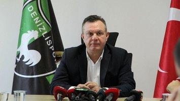 Denizlispor Başkanı'ndan acı itiraf:Maddi gücümüz tükendi