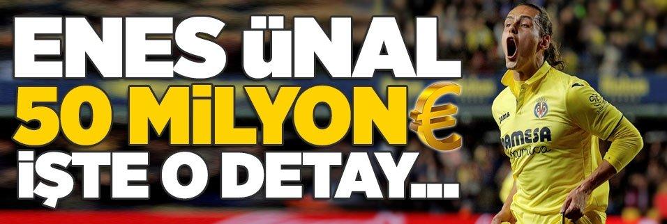 Enes Ünal 50 milyon Euro! İşte o detay...