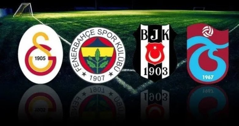 Beşiktaş, Fenerbahçe, Galatasaray ve Trabzonspor'da sözleşmesi sona erecek futbolcular
