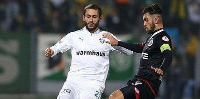 Bursaspor'un sürpriz golcüsü Aziz