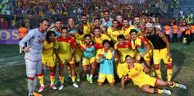 Başkentte kazanan Göztepe