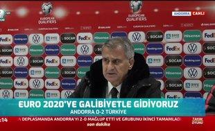 """Şenol Güneş: """"Asıl hedefimiz Dünya Kupası"""""""