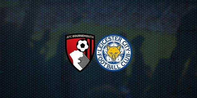 Bournemouth-Leicester City maçı ne zaman? Saat kaçta? Hangi kanalda canlı yayınlanacak? - öne çıkan -