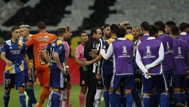 Son dakika spor haberleri | Atletico Mineiro Boca Juniors maçında olay! Futbolcular karakolluk oldu