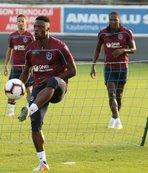 Trabzonspor'un Beşiktaş maçındaki kozları Rodallega ve Ekuban