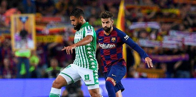 """Barcelona'dan Real Betis'e """"tweet"""" özrü"""