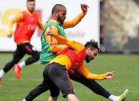 Galatasaray taktik çalıştı! Semih ve Feghouli ise...