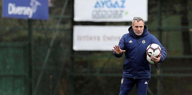 Fenerbahçe Ersun Yanal'la evinde başka