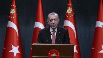 Başkan Erdoğan'dan Burak Elmas'a tebrik!