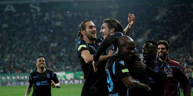 Trabzonspor'un Avrupa koşusu