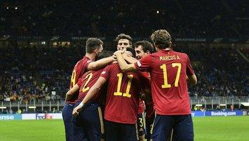 Uluslar Ligi'nde ilk finalist İspanya!