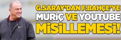 G.Saray'dan F.Bahçe'ye Muriç ve Youtube misillemesi!