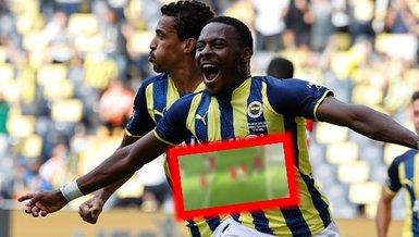 Fenerbahçe - Sivasspor maçında Osayi'nin golü dikkat çekti' Tam 7 kişi arasından...