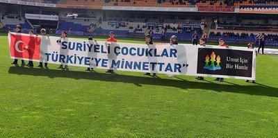 Suriyeli çocuklardan Türkiye'ye teşekkür