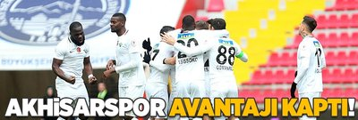 Akhisarspor deplasmanda Kayserispor'u devirdi!
