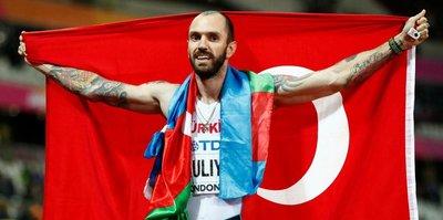 Ramil Guliyev tarihe geçti!