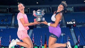 Avustralya Açık çift kadınlarda şampiyon belli oldu!