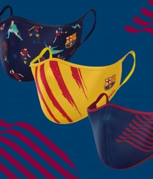 Barcelona'dan corona virüsüne özel koruyucu maske! Satışa sunuldu