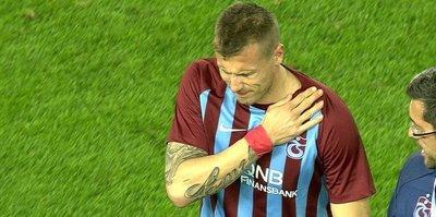 Trabzonsporlu yıldızda kırık şoku!