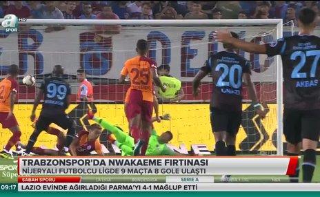 Trabzonspor'da Nwakaeme fırtınası
