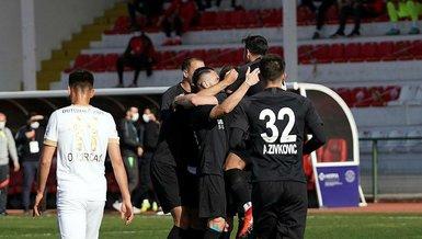 Ümraniyespor Akhisarspor: 2-1 (MAÇ SONUCU - ÖZET)