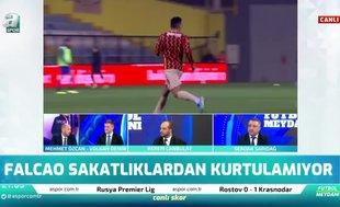 Mehmet Özcan: Galatasaray Falcao'yu elden çıkarmak istiyor