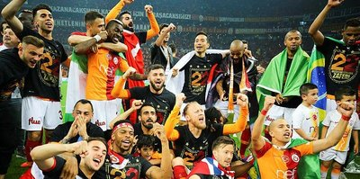 Süper Lig'de 61. sezonun şampiyonu Galatasaray