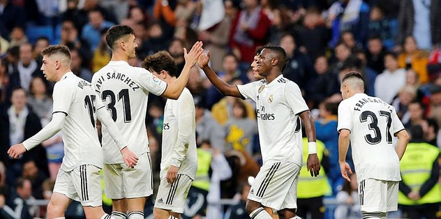 Real Madrid, Kral Kupası'nda üst turda