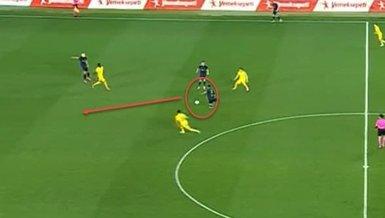 Ankaragücü Fenerbahçe maçında Sosa'dan büyük hata! Alper Potuk böyle attı