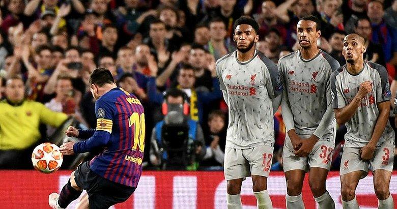 İşte Messi'nin Liverpool'u yıktığı o an!