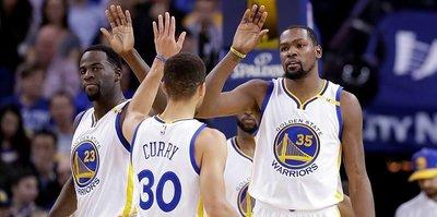 Warriors'ı Curry-Durant ikilisi sırtladı