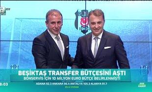 Beşiktaş transfer bütçesini aştı