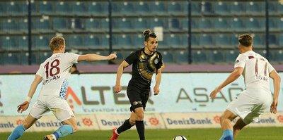 Osmanlıspor evinde Trabzonspor'la 3-3 berabere kaldı
