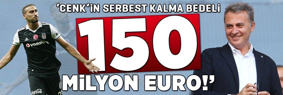 "Orman: ""Cenk'in serbest kalma bedeli 150 milyon Euro..."""
