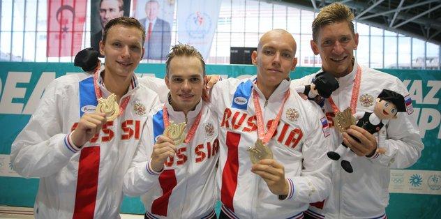 Deaflympics 2017'nin en başarılısı Rusya