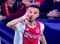 Ajax - Tottenham maçına damga vuran görüntü! Müslüman futbolcular...