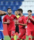 Ümit Milli Futbol Takımı, İsveç maçı hazırlıklarına başladı