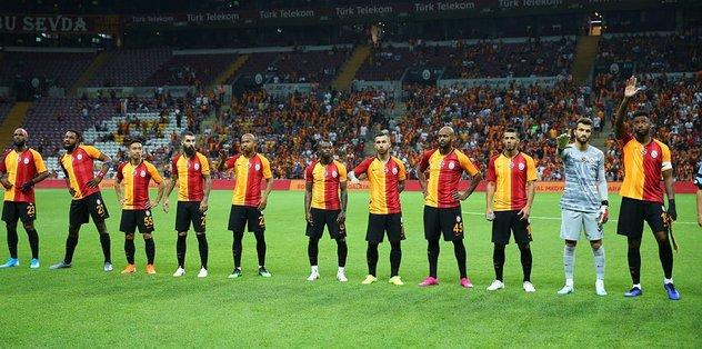Galatasaray-Panathinaikos maçından kareler!
