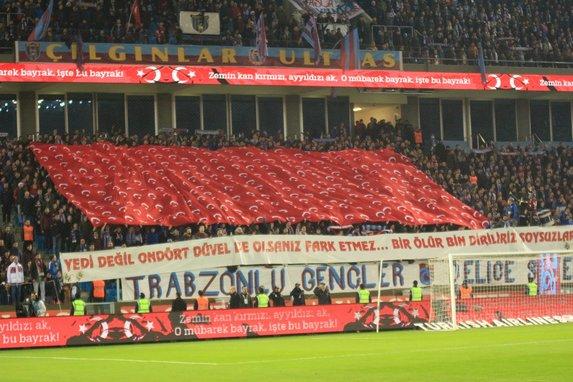 Trabzon'dan dünyaya mesaj!