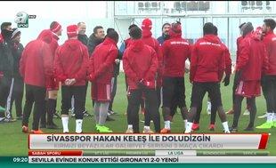Sivasspor Hakan Keleş ile doludizgin