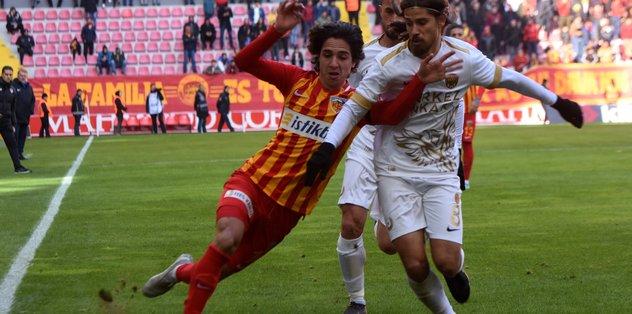 MAÇ SONUCU | Kayserispor 1-1 Ankaragücü