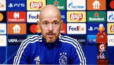 Son dakika spor haberi: Ajax Teknik Direktörü Erik ten Hag: Beşiktaş harika bir takım