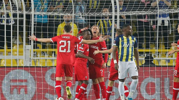 Fenerbahçe Antwerp maçında skandal gol kararı!