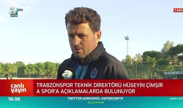 Trabzonspor Teknik Direktörü Hüseyin Çimşir: Şampiyonluk yarışının içinde olacağız