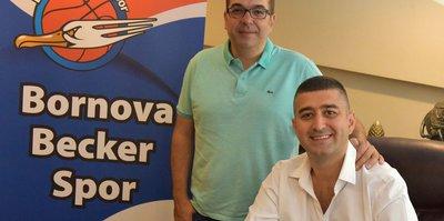 Bornova Beckerspor'a sponsor desteği