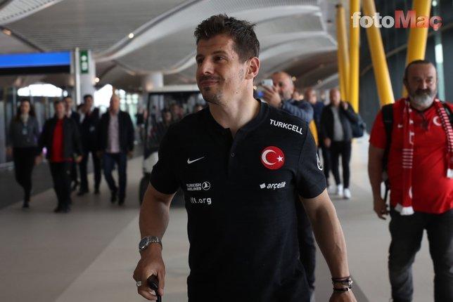 Emre Belözoğlu Fenerbahçeli kurmaylar ile biraraya geldi! İşte konuşulanlar...