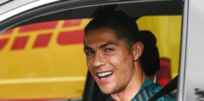 Juventus tesislerinde Cristiano Ronaldo sevinci! Karantina sonrası...