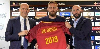 Roma, Daniele De Rossi ile 2019 kadar 'devam' dedi