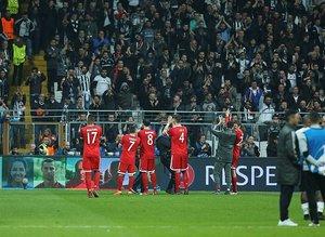 Beşiktaş - Bayern Münih maçı sonrası paylaşımlar