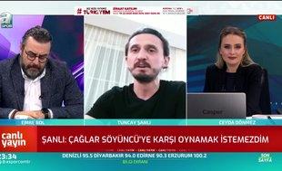 Tuncay Şanlı: Fenerbahçe için göreve her zaman hazırım